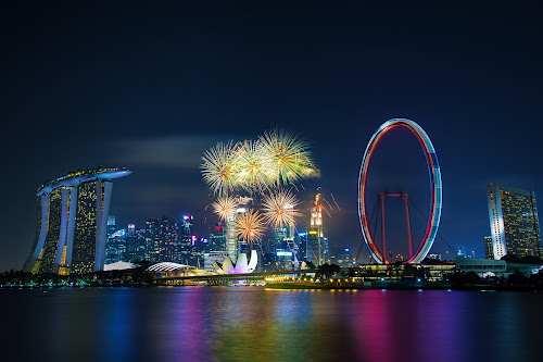 by Sam Song - Abstract Fire & Fireworks (  )