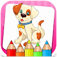 Dogs Coloring Book icon