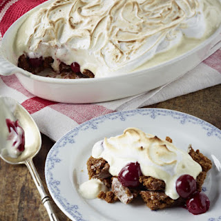 Gingerbread and Cherry Dessert