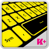 Keyboard Plus Black and Yellow