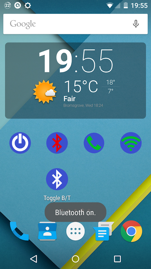 Toggle Bluetooth- screenshot