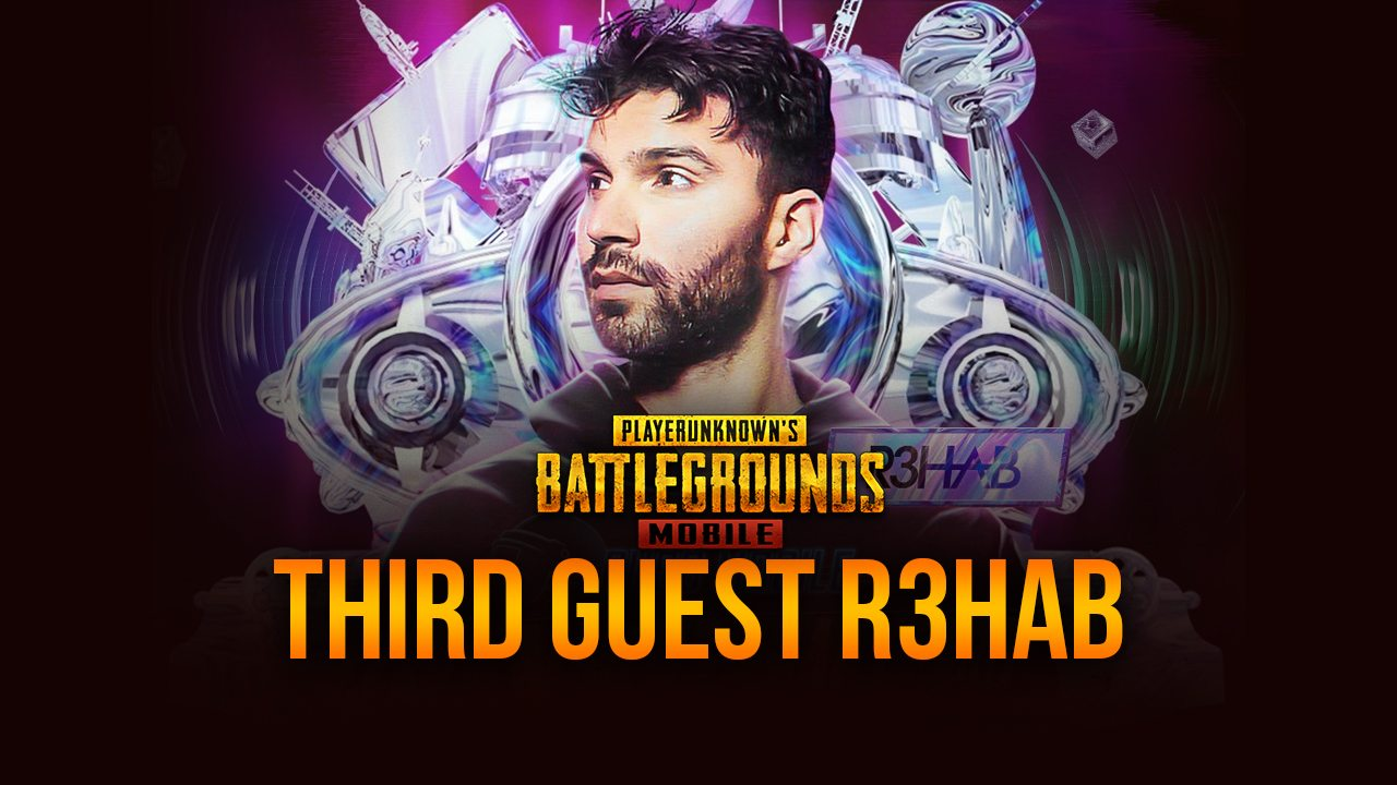R3hab completes the lineup of three mind-blowing performers at the PUBG Mobile anniversary event