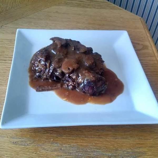 Pressure Cooked Pot Roast W Mushroom & Onion Gravy