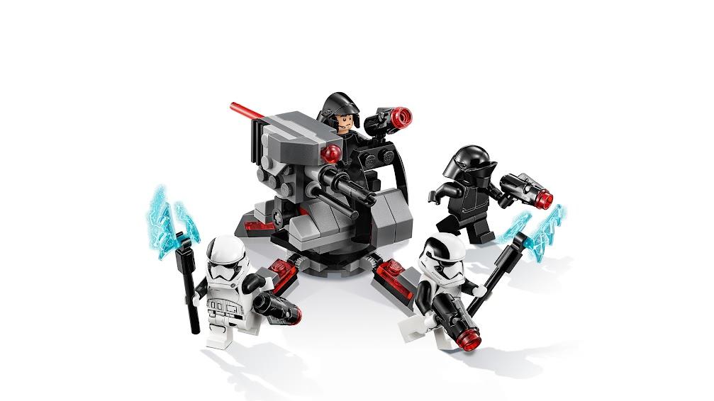 Contenido de Lego® 75197 Pack de Combate de Especialistas de la Primera Orden