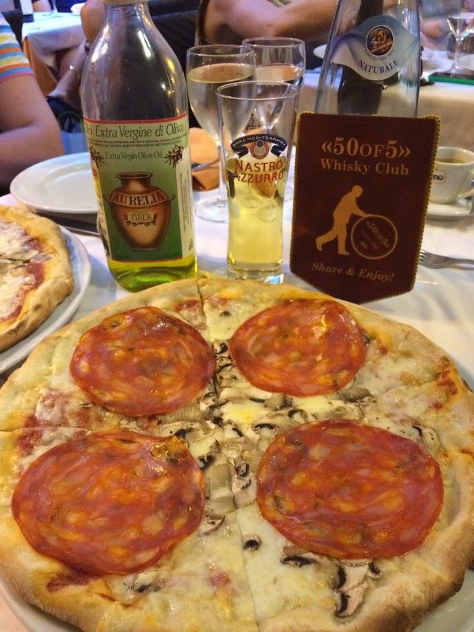 dinner in italian style