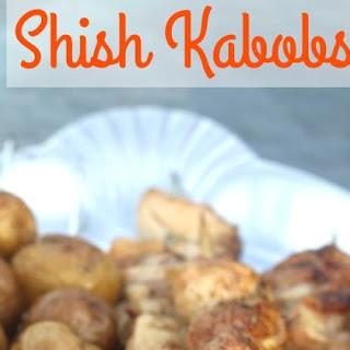 Chicken and Veggie Shish Kabobs