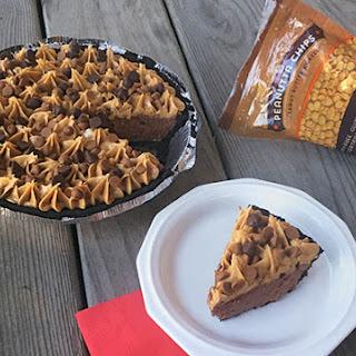 No-Bake Chocolate Peanut Butter Cheesecake Pie.