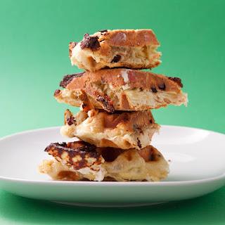 Cinnamon-Raisin Puff Pastry Waffle.
