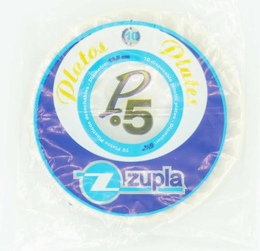 platos plasticos zupla p5 10und