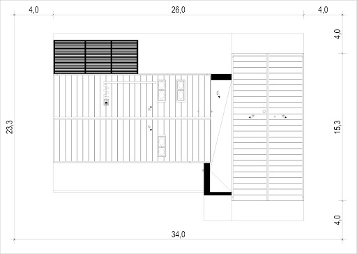 House X15 - Sytuacja