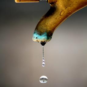 by Igor Čavlek - Abstract Water Drops & Splashes