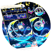 Colorful Moon Light Night Theme