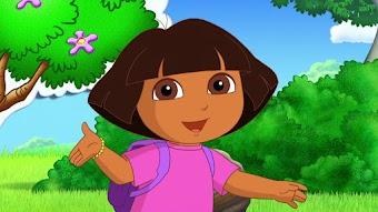 Dora verfolgt den Formenzug