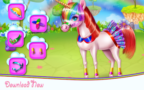 Unicorn Beauty Salon- screenshot thumbnail