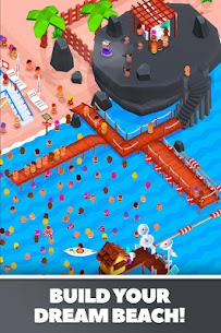 Idle Beach Tycoon Mod Apk (Unlimited Crystals) 1.0.4 5