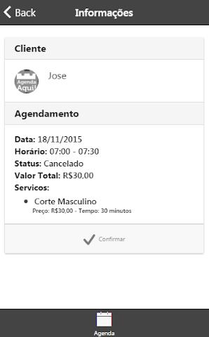 android Agenda Aqui! Profissional Screenshot 3