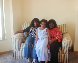 Photo: Mommy, Kaleya and I. Of course she would stick her tounge out!
