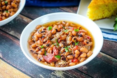 Crock Pot Black-Eyed Peas & Ham