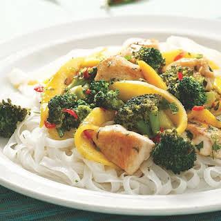 Thai Chicken & Mango Stir-Fry.