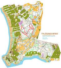 Photo: Tylebäck MTBO-karta
