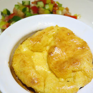 Cheese Soufflé.