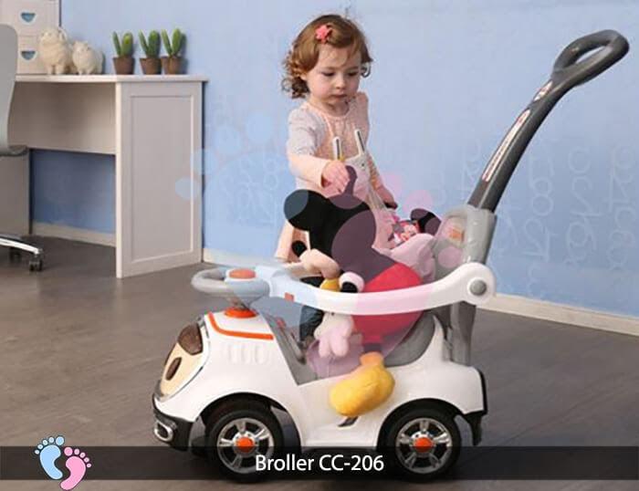 Xe chòi chân trẻ em Broller CC 206 3