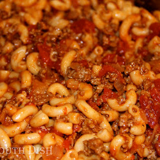 Basic Ground Beef American Goulash Recipe