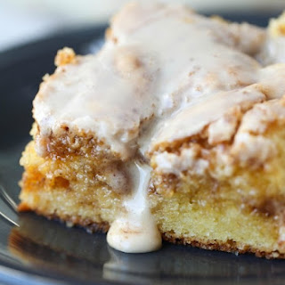 Easy Cinnamon Roll Cake.