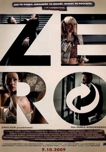 Przód ulotki filmu 'Zero + Galerianki'