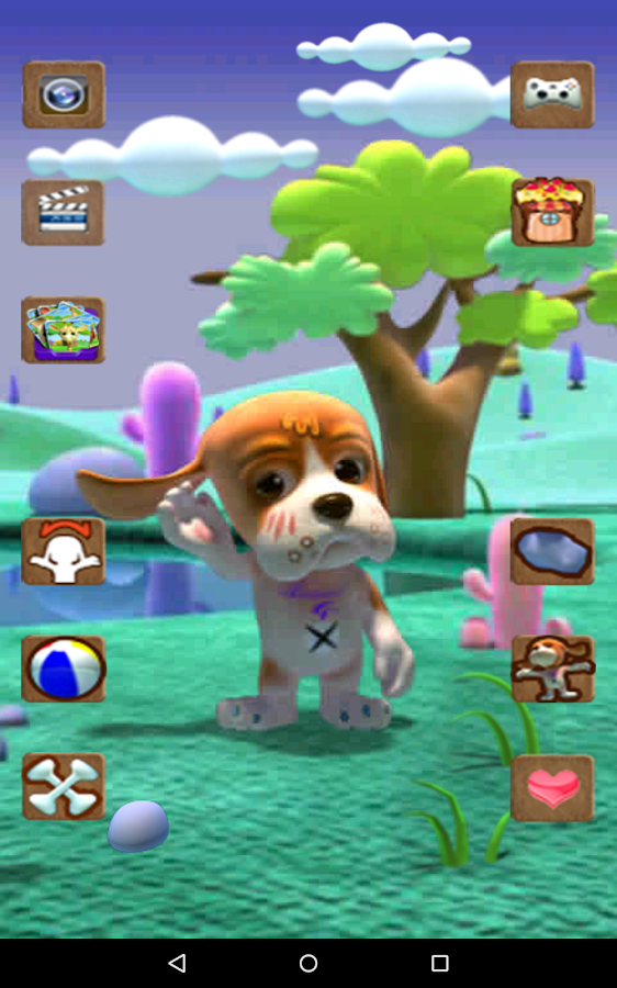 Talking Basset Free- screenshot