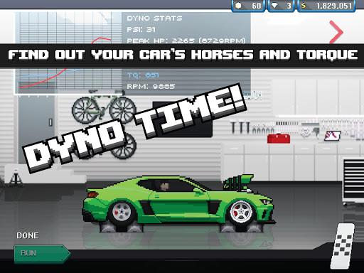 Pixel Car Racer (Mod Money)