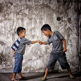 martial lessons by Yreff Lesmana - Babies & Children Child Portraits (  )