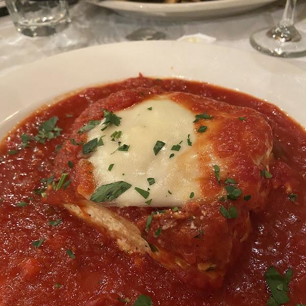 GF lasagna!