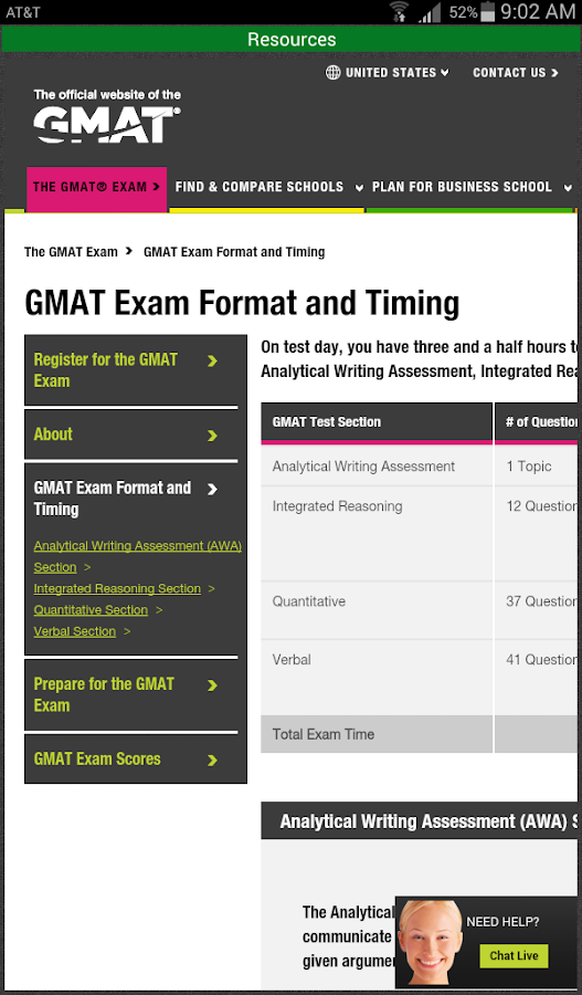 Official Guide for GMAT Review- screenshot
