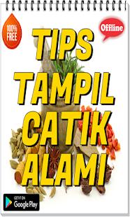 Tips Tampil cantik Alami - náhled