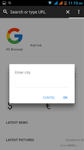 4G Browser App Download For Android and iPhone 1