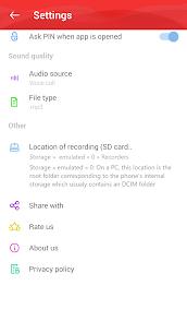 Automatic Call Recorder (ACR) Pro v1.7 APK [Latest] 3