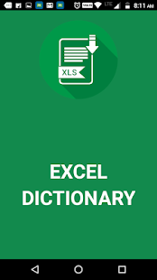 Excel Dictionary - náhled