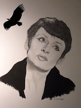 Photo: Barbara (la Dame en noir)