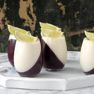 Blueberry Guava Panna Cotta