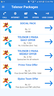 Download All Telenor Packages Detail: APK latest version App