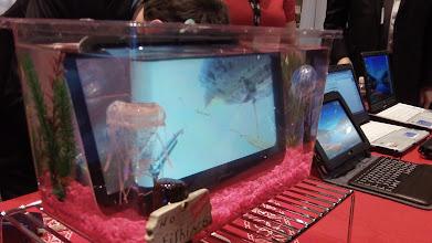 Photo: Fujitsu underwater tablet - Photo by Eric Mack