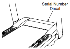 Where Is The Serial Number On My Nordictrack Treadmill