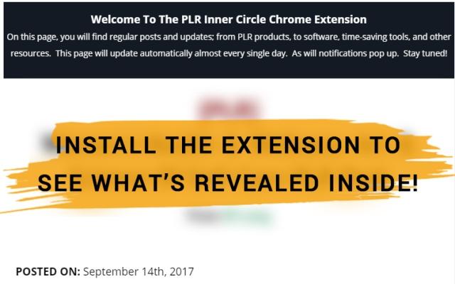 PLR Inner Circle