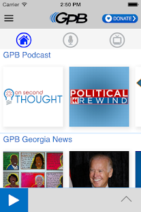 GPB Georgia- screenshot thumbnail
