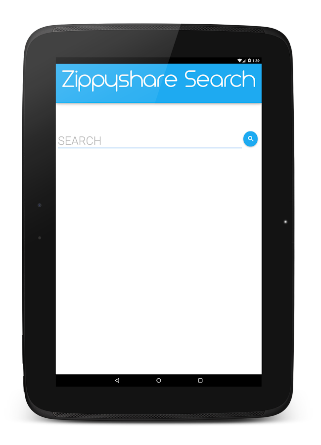 Zippyshare Search and Download - screenshot