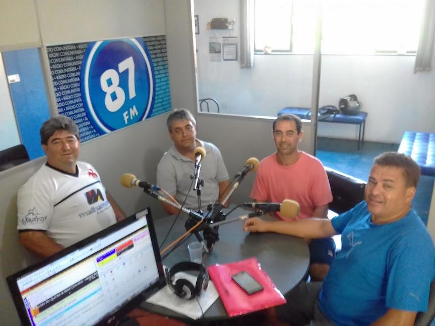 Ademir José Dos Santos, Donacio Silva, Euzébio Alves Do Amaral e Sergio Borges