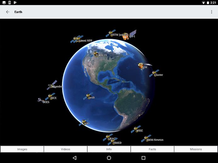 Screenshot 13 for NASA.gov's Android app'