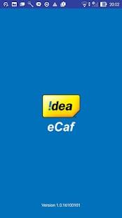 Idea eCaf - náhled