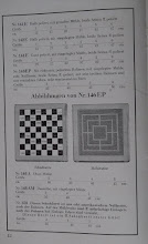 Photo: Uhlig catalogue c1913, p.12  with: Sketches of ref. 146EP showing Chess-side & Mill-side  (Mill being similar to Nine-Mens-Morris in the UK)